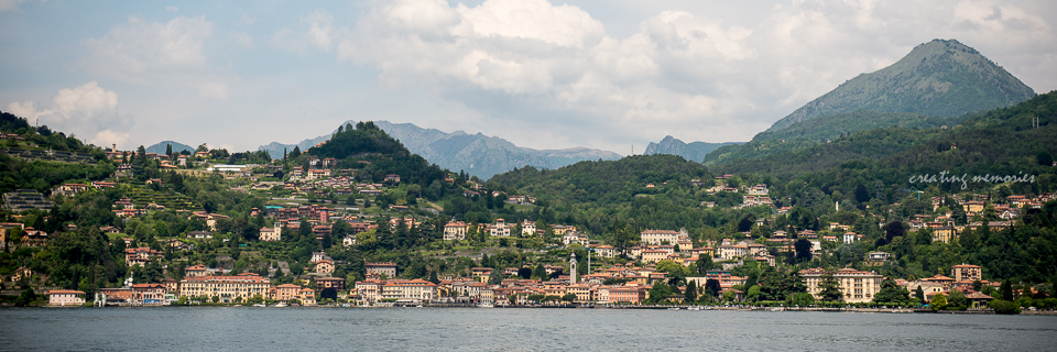 Bellagio, located at the tip of the Triangolo Lariano peninsula